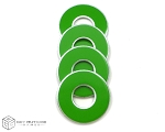 Green-Lime VVashers™ - Set of 4